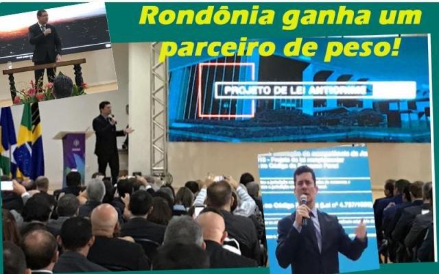 Sergio Moro é aplaudido de pé - Chrisóstomo com o mandato em perigo - A volta da censura abala o país  - Gente de Opinião