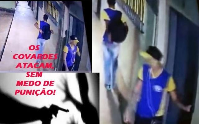 """Covardes atacam e apavoram dentro das salas de aula - Rondônia na contra mão - Laerte: """"terror no campo"""" - Gente de Opinião"""