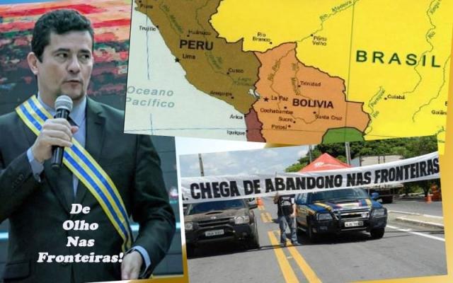 Sérgio Moro quer comprar avião para vigilância da fronteira de Rondônia - Um reforço de peso para Hildon Chves - Gente de Opinião