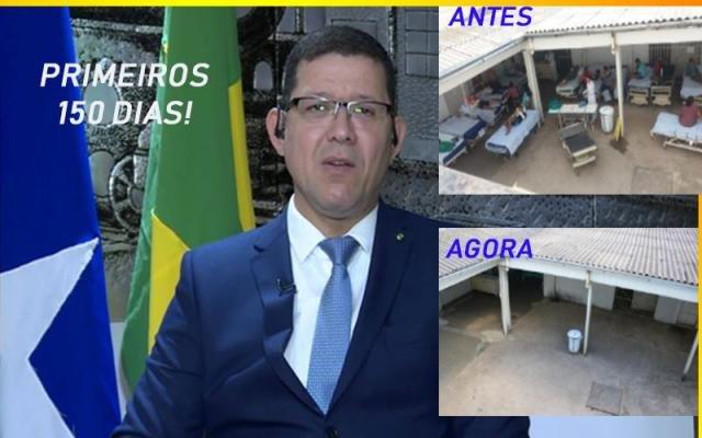 Cinco meses de Marcos Rocha - Arraial sem os grupos folclóricos - Cabeça contra cabeça - Gente de Opinião