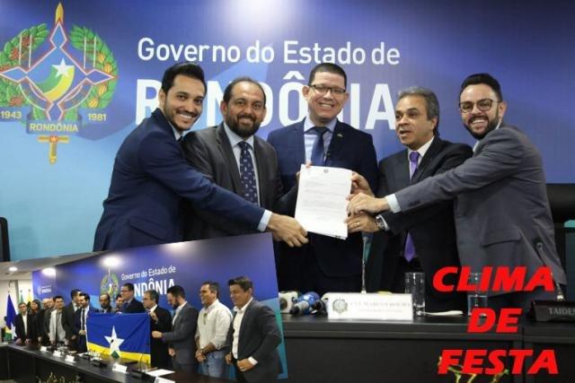 Rondônia dá exemplo ao país - Daniel: Candidato pelo solidariedade - O  PSL de olho em Porto Velho - Um prêmio aos canalhas - Gente de Opinião