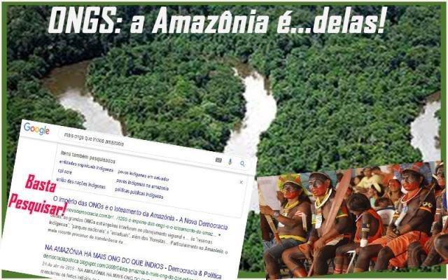 Faltam índios na Amazônia e sobram ONGs para protegê-los - Vereadores e as burrices - Vai faltar cadeia para tantos canalhas - Gente de Opinião