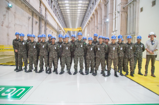 UHE Jirau recebe turma de formação de oficiais do 5º BEC - Gente de Opinião