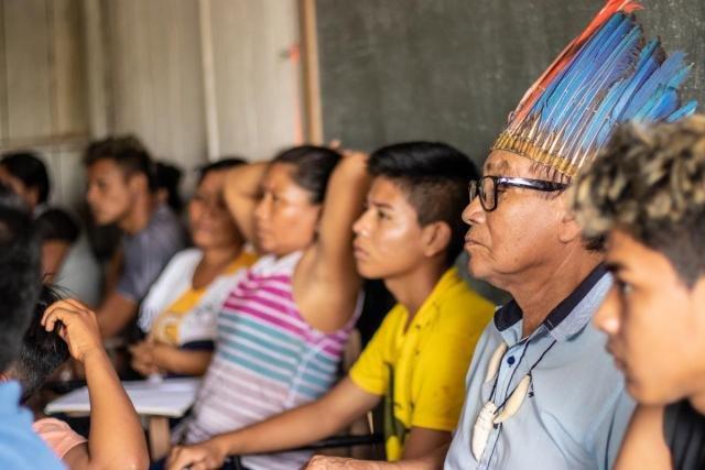 Comunidade indígena está localizada na Reserva de Desenvolvimento Sustentável Mamirauá (Foto: Bernardo Oliveira) - Gente de Opinião