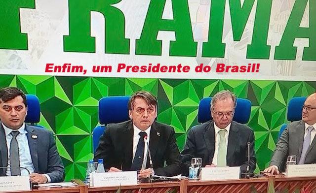 Denúncia: Lula fez acordo secreto com canadenses - Duplicação da BR 364 - Furto na mesa de trabalho - Gente de Opinião