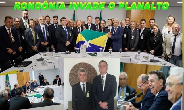 Encontro de rondonienses com Bolsonaro  - A violência e a desumanidade - Só não levaram o prédio - A nossa riqueza já tem dono! - Gente de Opinião