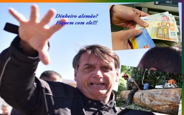 Bolsonaro diz que alemães querem comprar a Amazônia  - Fechou a grana para a ponte - O novo fora da disputa de 2020 - Gente de Opinião