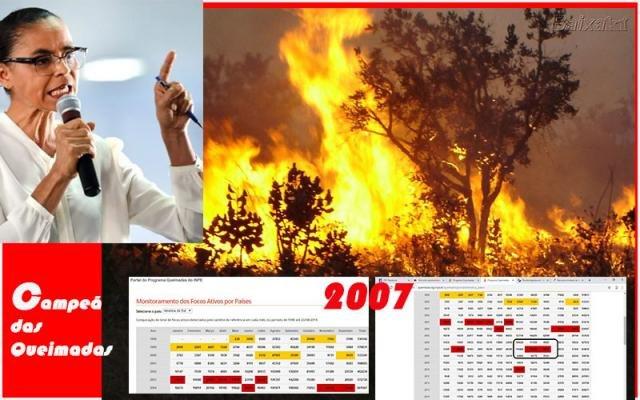 Recorde de queimadas foi em 2007, Marina era ministra + Confúcio escolhe novo partido + Um teatro novo, mas com 13 anos - Gente de Opinião