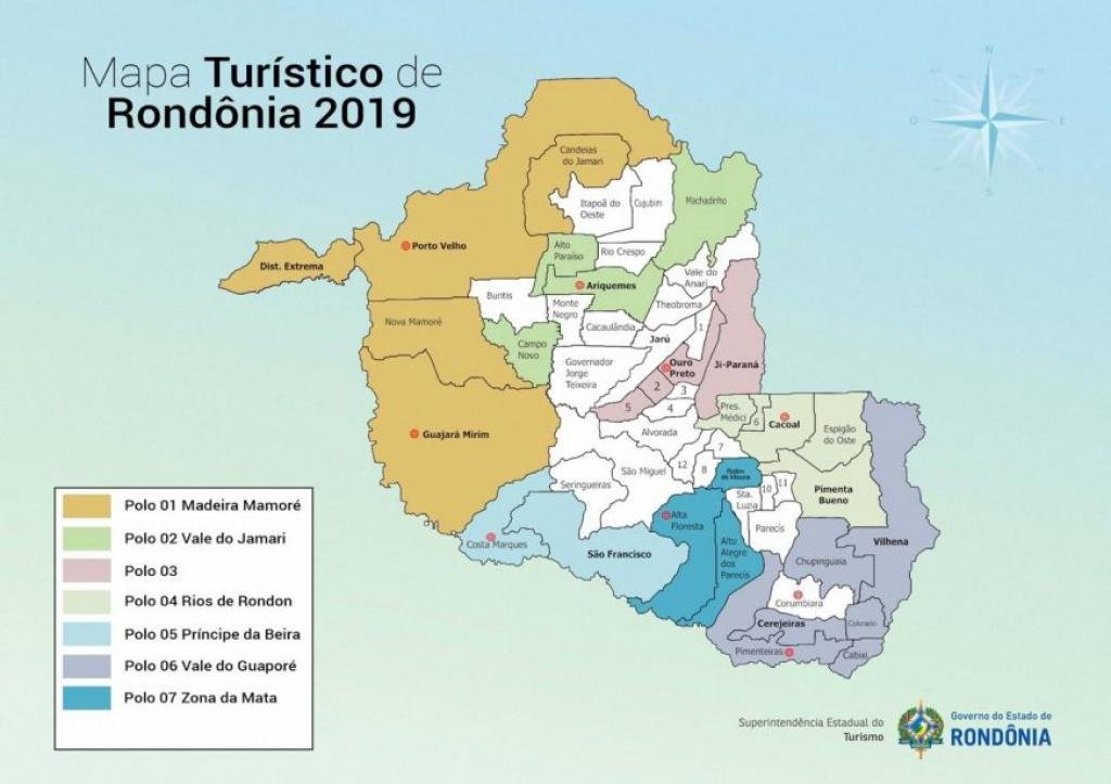 Rondônia tem novo Mapa Turístico aprovado pelo Ministério do Turismo - Gente de Opinião
