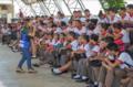 """Estudantes da região recebem informações sobre o projeto de pesquisa """"Mansonia e Você"""" da UHE Jirau"""