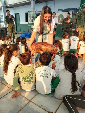 Sedam e BPA realizam projeto de Educação Ambiental em Costa Marques para Unidades de Conservação - Gente de Opinião