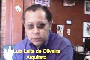 Luiz Leite de Oliveira –  Autor, arquiteto, urbanista (UnB), pesquisador do Patrimônio Histórico da Amazônia, cineasta, caboclo de  São  Carlos do Jamari, presidente da AMMA. - Gente de Opinião