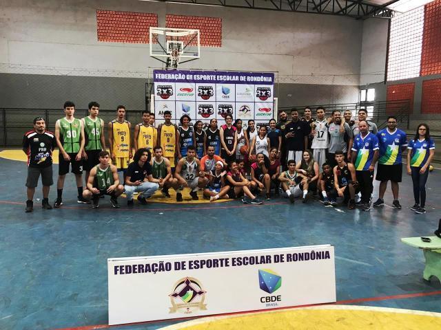 Equipes de Vilhena e de Cujubim vão representar Rondônia no Brasileiro Escolar de Basquete 3x3, em Salvador - Gente de Opinião