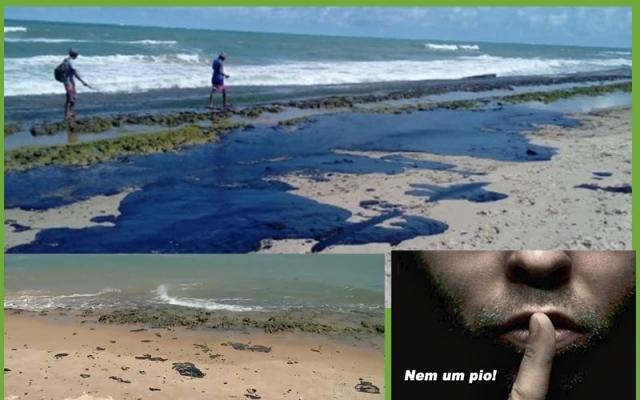 Um silêncio ensurdecedor: onde estão os protestos dos ambientalistas sobre o óleo nas nossas praias? - Gente de Opinião