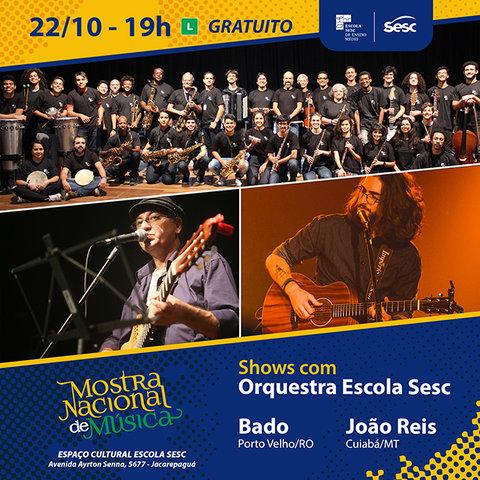 Bado representa Rondônia na III Mostra Nacional de Música Sesc no Rio de Janeiro - Gente de Opinião