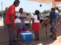 Ponto de apoio para venezuelanos sem ter como viver na terra natal buscam uma vida melhor