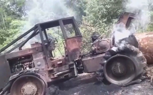 Madeireiros denunciam: Incêndio em veículos na Flona Jacundá foi criminoso - Gente de Opinião