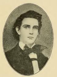 George Earl Church, aos dezessete anos de idade Fonte: IBAR, 1909, p. 401 - Gente de Opinião