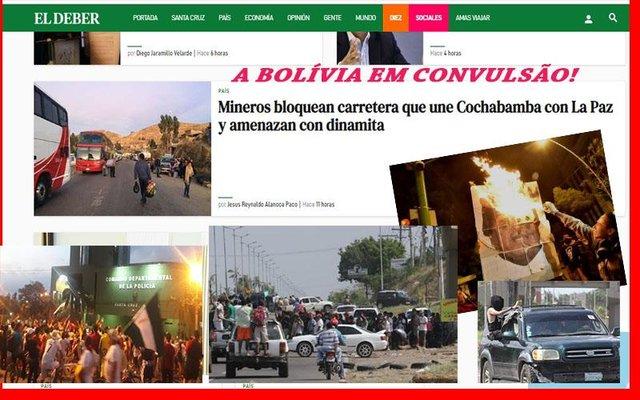 Violência na Bolívia preocupa famílias de brasileiros + Comerciários: números surpreendentes + Asfalto da BR 319 ganha 400 milhões - Gente de Opinião