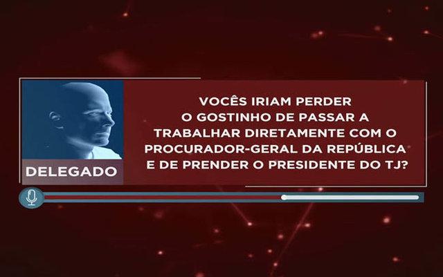 Pau Oco - delegado fala em armação contra presidentes do TJ e da ALE - Gente de Opinião