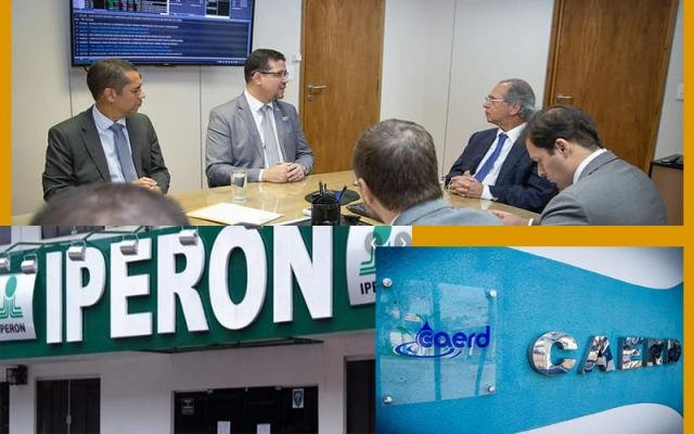 Ministro Paulo Guedes e os casos da Caerd e Iperon + Lula defendendo os ladrões de celulares +Operação Draco tem mais denúncias - Gente de Opinião