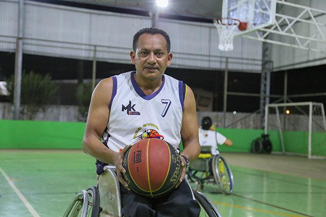 Basquete em cadeiras de rodas da show em Nova Mutum Paraná - Gente de Opinião