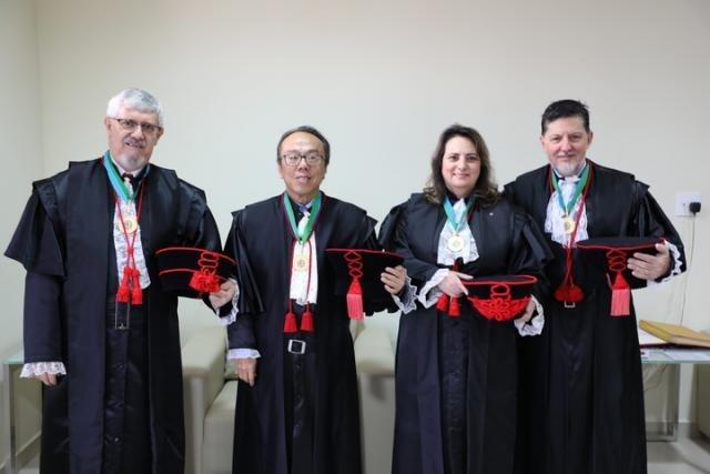 Ameron saúda novos dirigentes do Poder Judiciário de Rondônia para o biênio 2020/2021 - Gente de Opinião