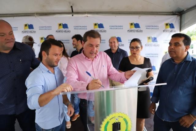 Hildon Chaves anuncia recapeamento de 64 quilômetros de ruas - Gente de Opinião
