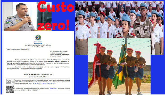 Polícia Militar acaba cobrança aos pais de alunos do colégio Tiradentes + Veneno destilando pelos corredores - Gente de Opinião
