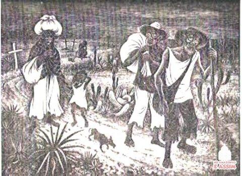 Trabalhadores Cearenses retirantes da seca de 1877/1878 na ferrovia Madeira-Mamoré