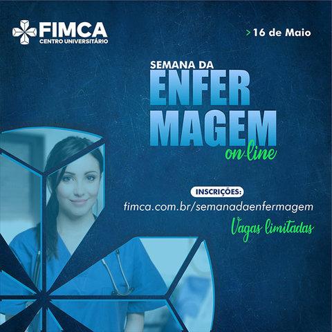 Semana de Enfermagem FIMCA terá palestras onlines neste sábado - Gente de Opinião