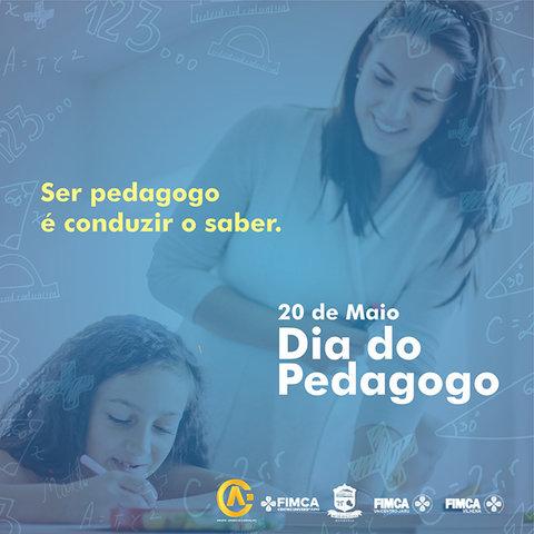 20 de Maio dia do Pedagogo - Metropolitana parabeniza todos os Profissionais - Gente de Opinião