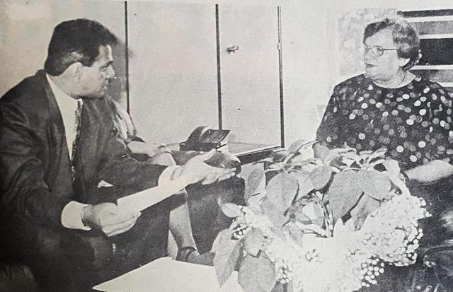 Anísio Gorayeb e a ex-prefeita de São Paulo, Luíza Erundina - Gente de Opinião