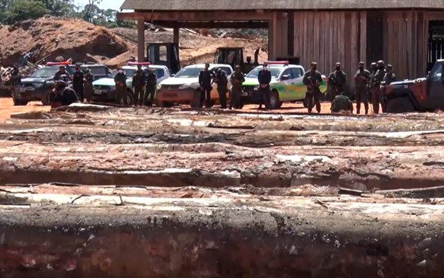 Operação Brasil Verde fecha duas madeireiras por prática de irregularidades - Gente de Opinião
