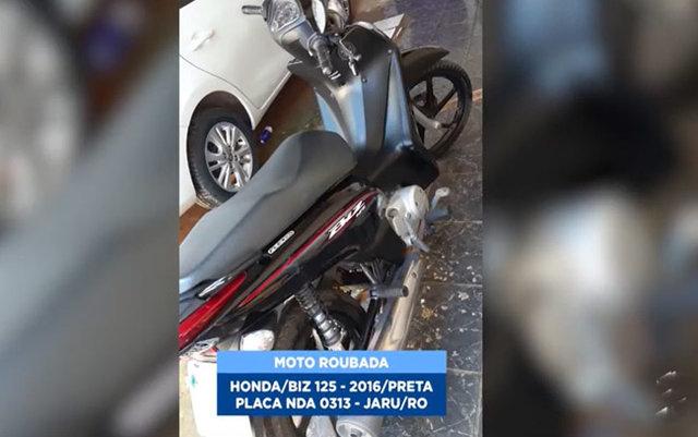 Marginais roubam moto com incrível naturalidade em Porto Velho - Gente de Opinião