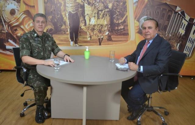 Dr. Aparício Carvalho entrevista General Lima da 17° Brigada de Infantaria de Selva - Gente de Opinião