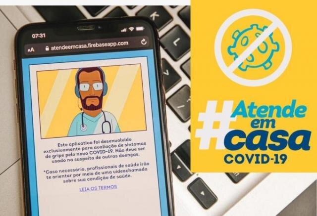 """Uso do aplicativo """"Atende em Casa –  Covid-19"""" é incentivado pela Prefeitura de Porto Velho - Gente de Opinião"""