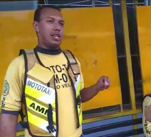 Nota de Pesar pelo falecimento do mototaxista Ismael Santos da Silva - Gente de Opinião