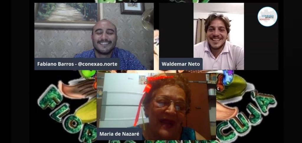 Vereador Waldemar Neto destaca o sucesso do Flor do Maracujá Virtual - Gente de Opinião