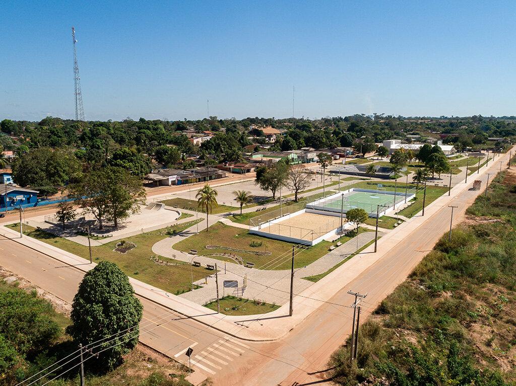 Jaci- Paraná ganha área de lazer - Gente de Opinião