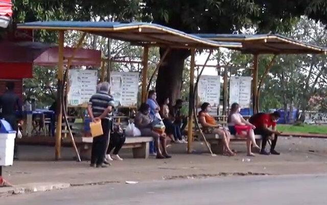 Trabalhadores, sem salários, param transporte coletivo de Porto Velho e o serviço de mototáxi volta a circular com prevenções - Gente de Opinião