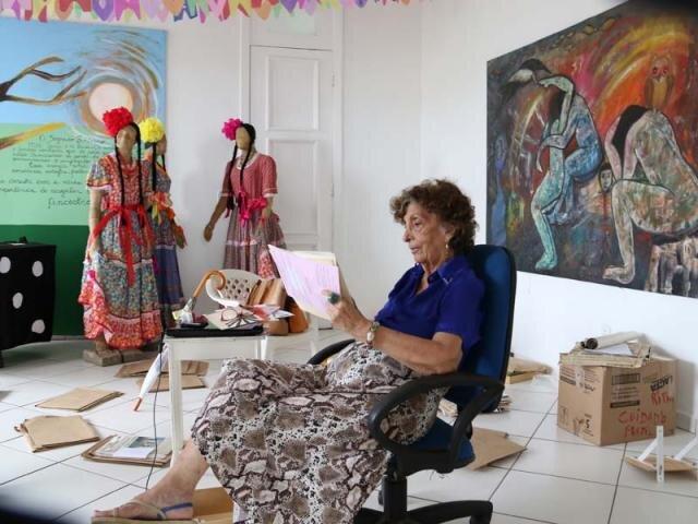 Lenha na Fogueira com a artista plástica Rita Queiroz - Gente de Opinião
