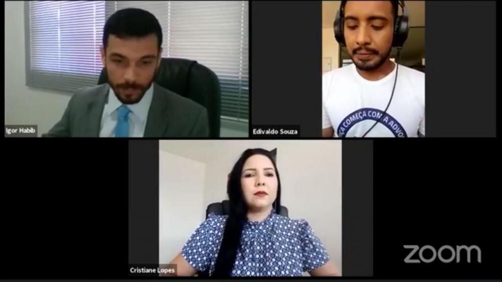 Pré candidata a Prefeita Cristiane Lopes concede entrevista à rádio CAARO da OAB - Gente de Opinião
