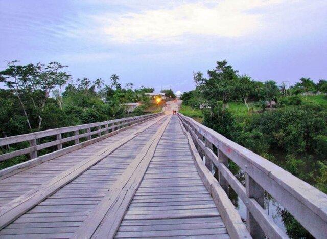Ponte do Igarapé Manaca – Tonantins - Gente de Opinião