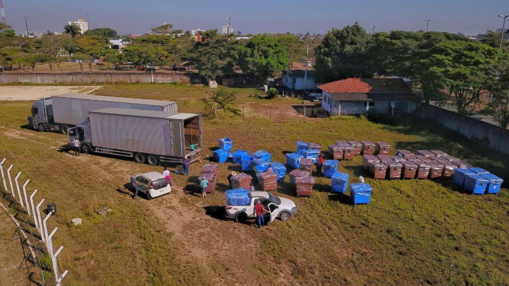 Ministro do Meio Ambiente faz vídeo citando entrega da segunda remessa de contentores de lixo para Vilhena - Gente de Opinião