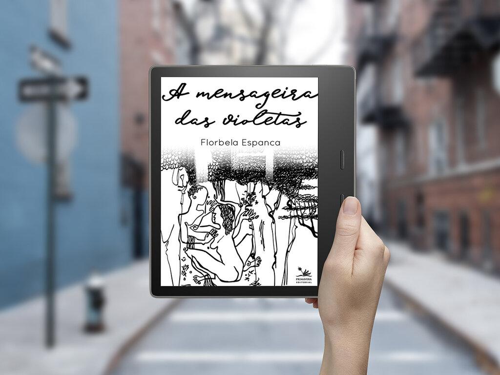 """Lenha na Fogueira com a Lei Aldir Blanc  e a """"A Mensageira das Violetas"""", da poetisa Florbela Espanca - Gente de Opinião"""