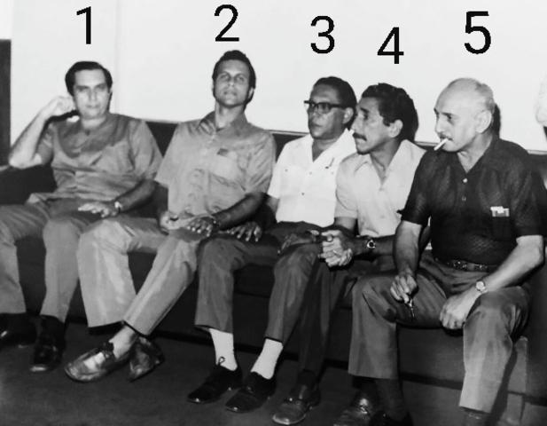 Reunião no Palácio Presidente Vargas nos anos 70 - Gente de Opinião