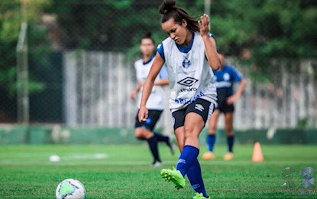 Mayara Farias, de Alto Alegre dos Parecis, foi contratada pelo Grêmio de Porto Alegre - Gente de Opinião