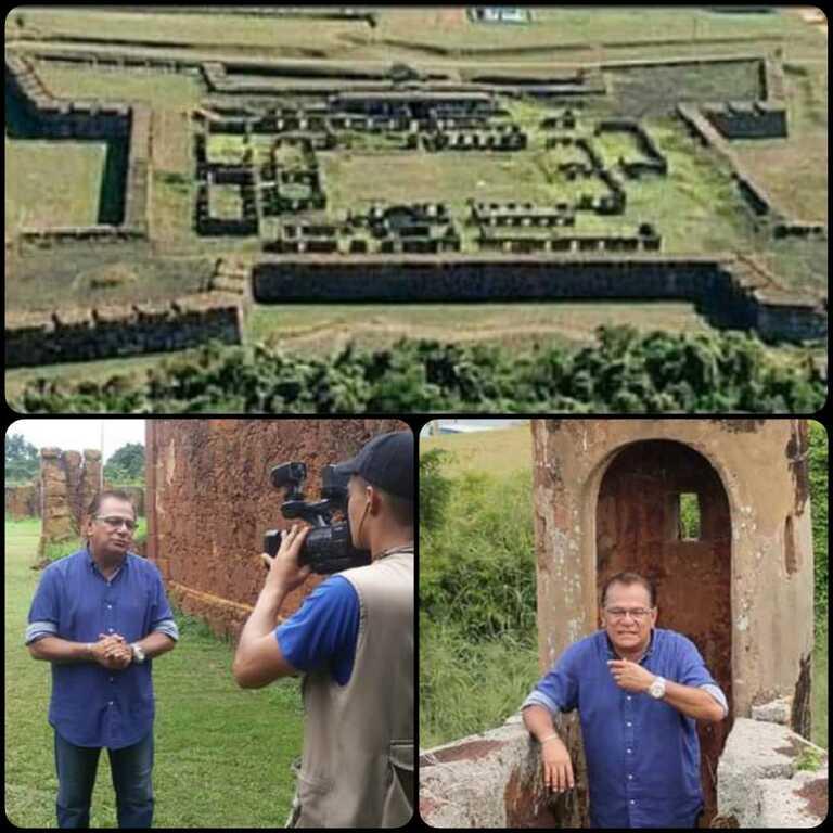 Forte Príncipe da Beira - Inaugurado no dia 20 de agosto de 1783, nosso Real Forte Príncipe da Beira completa hoje, 237 anos. - Gente de Opinião