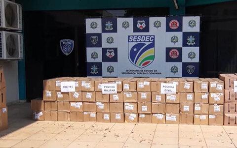 Órgãos de segurança de Rondônia recebem equipamentos de proteção do Governo Federal